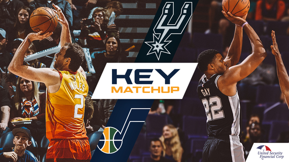 Key Matchup: Joe Ingles vs. Rudy Gay