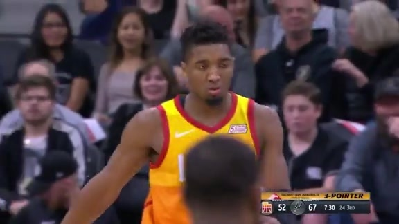 Highlights: Donovan Mitchell—27 points, 5 rebounds