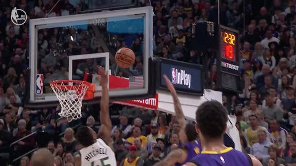Highlights: Donovan Mitchell—33 points, 9 assists, 4 3pm