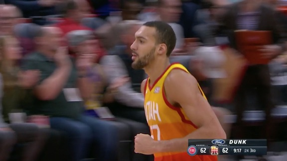 Highlights: Jazz 100 | Pistons 94
