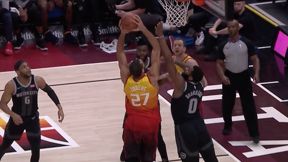 Highlights: Rudy Gobert—18 points, 25 points, 3 assists