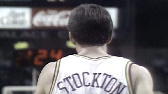 TBT—John Stockton records 28 assists against the Spurs