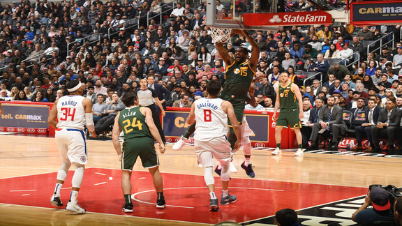 Highlights: Jazz 129 | Clippers 109
