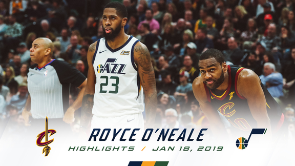 Highlights: Royce O'Neale—16 points, 11 rebounds, 4 3pm