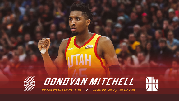 Highlights: Donovan—36 points, 6 rebounds, 5 assists