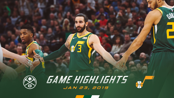 Highlights: Jazz 114 | Nuggets 108