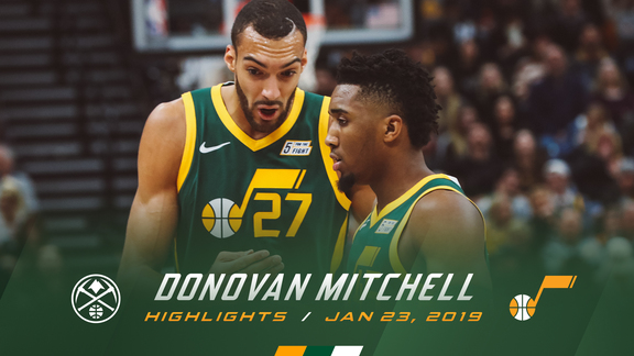 Highlights: Donovan Mitchell—35 points, 6 rebounds, 6 assists