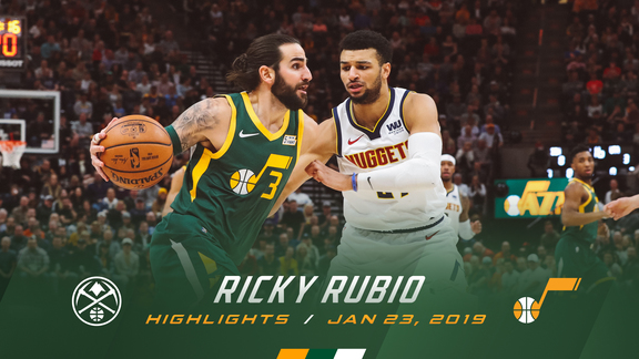 Highlights: Ricky Rubio—17 points, 6 assists