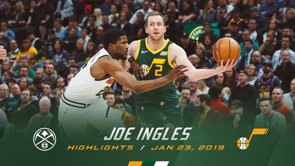 Highlights: Joe Ingles—14 points, 8 assists, 4 3pm