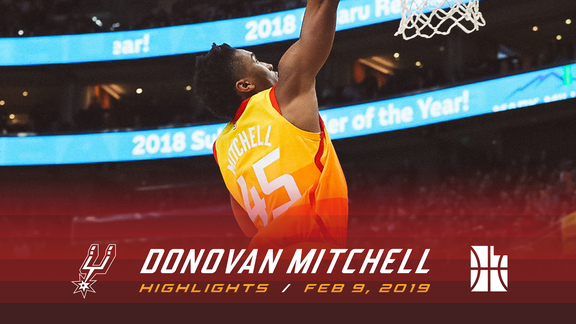 Highlights: Donovan Mitchell—23 points, 5 rebounds, 5 assists