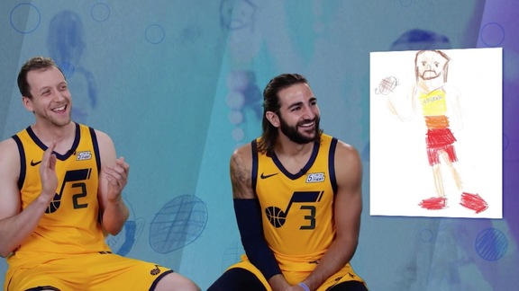 Kid Picasso: Jazz players guess who's in the drawing