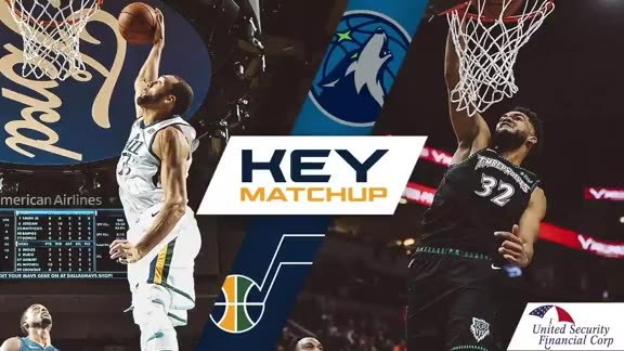 Gobert vs. Towns - Key Matchup