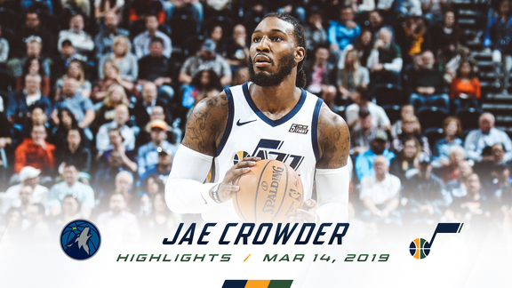 Highlights: Jae Crowder—18 points, +23