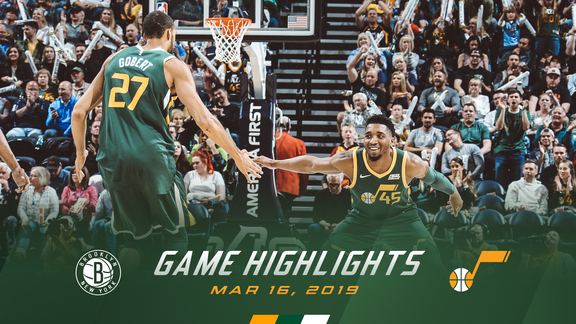 Highlights: Jazz 114 | Nets 98