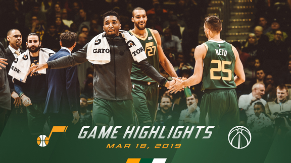 Highlights: Jazz 116 | Wizards 95