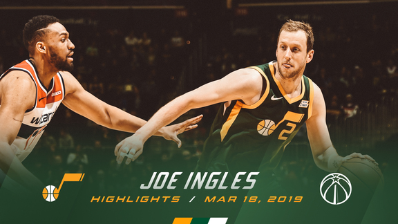 Highlights: Joe Ingles—16 points, 4 3pm