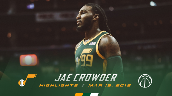 Highlights: Jae Crowder—18 points, 5 rebounds
