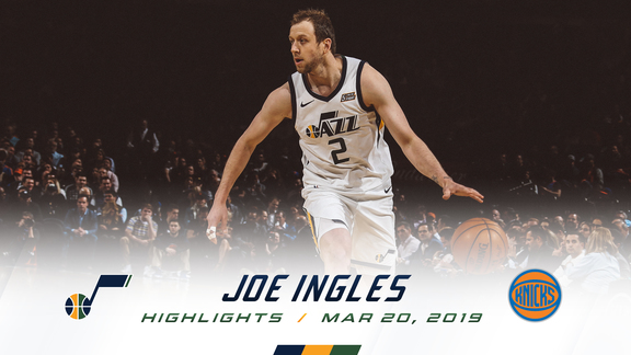 Highlights: Joe Ingles—18 points, 7 assists