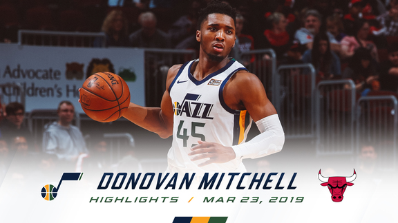 Highlights: Donovan Mitchell—16 points, 8 rebounds