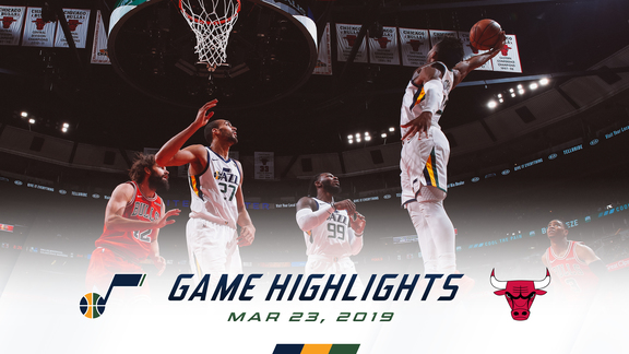 Highlights: Jazz 114 | Bulls 83