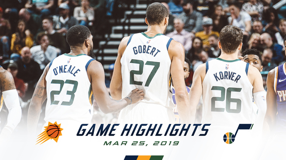 Highlights: Jazz 125 | Suns 92