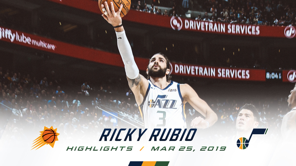 Highlights: Ricky Rubio—18 points, 6 assists