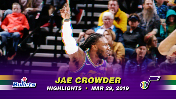 Highlights: Jae Crowder—18 points, 4 3pm