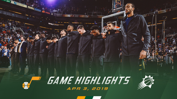Highlights: Jazz 118 | Suns 97