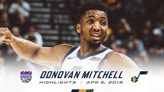 Highlights: Donovan Mitchell—23 points, 9 assists