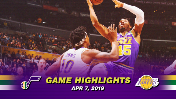 Highlights: Jazz 109 | Lakers 113