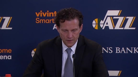 Postgame Interviews, 4.10—Coach Quin Snyder