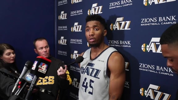 Gobert, Coach Snyder & Mitchell Practice Interviews - 4.12.19