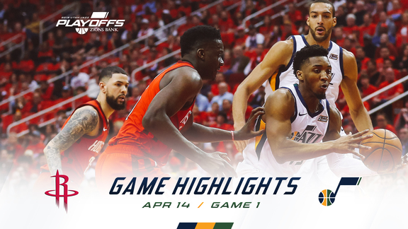 Highlights: Jazz 90 | Rockets 122