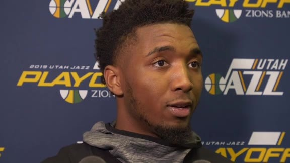 Shootaround Interviews, 4.17—Donovan Mitchell, Jae Crowder