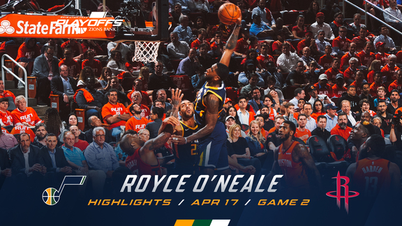Highlights: Royce O'Neale—17 points, 4 assists, 3 3pm