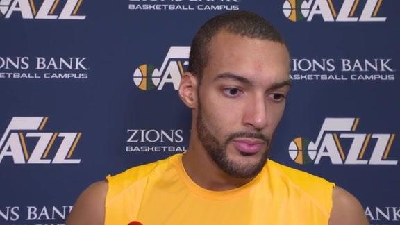Shootaround Interviews, 4.22—Rudy Gobert, Joe Ingles