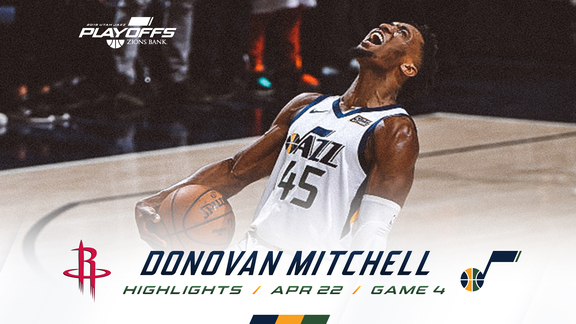 Highlights: Donovan Mitchell—31 points, 3 3pm
