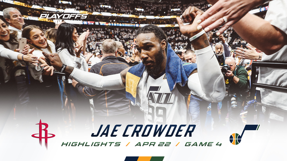 Highlights: Jae Crowder—23 points, 3 3pm