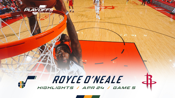 Highlights: Royce O'Neale—18 points, 5 rebounds