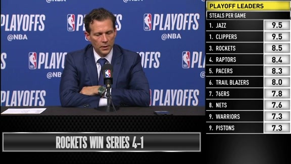 Postgame Interviews, 4.24—Coach Quin Snyder