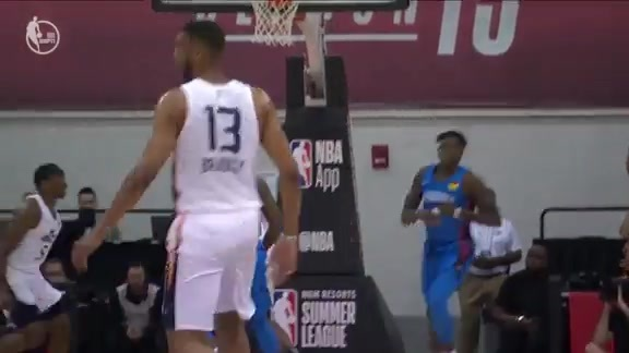 Highlights: Tony Bradley—19 points, 14 rebounds