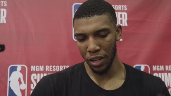 Postgame Interviews, 7.9— Tony Bradley