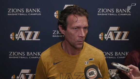 2019 Training Camp Day 3 - Coach Quin Snyder