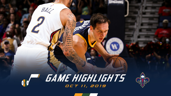 Highlights: Jazz 127 | Pelicans 128