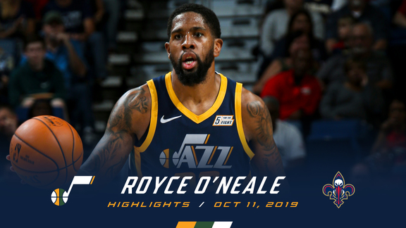 Highlights: Royce O'Neale—16 points, 4 3pm