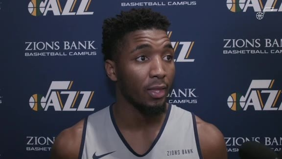 Donovan Mitchell Shootaround vs. SAC - 10.14.19