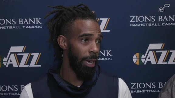 Mike Conley Shootaround vs. SAC - 10.14.19
