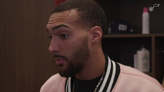 Postgame Interviews, 10.16—Rudy Gobert