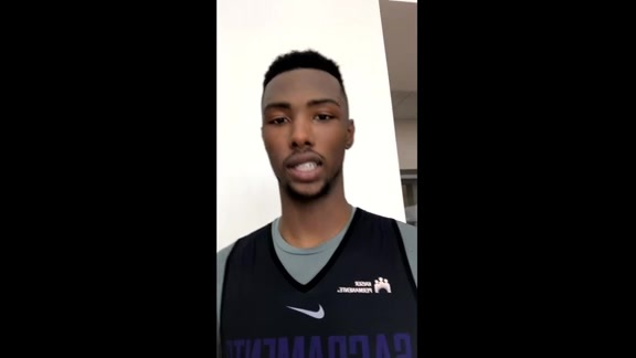 Q&A with Harry Giles