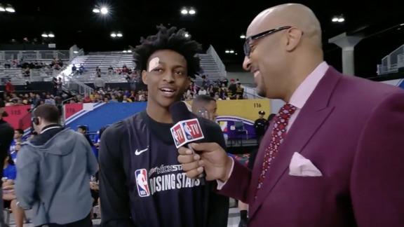 De'Aaron Fox NBA TV Interview